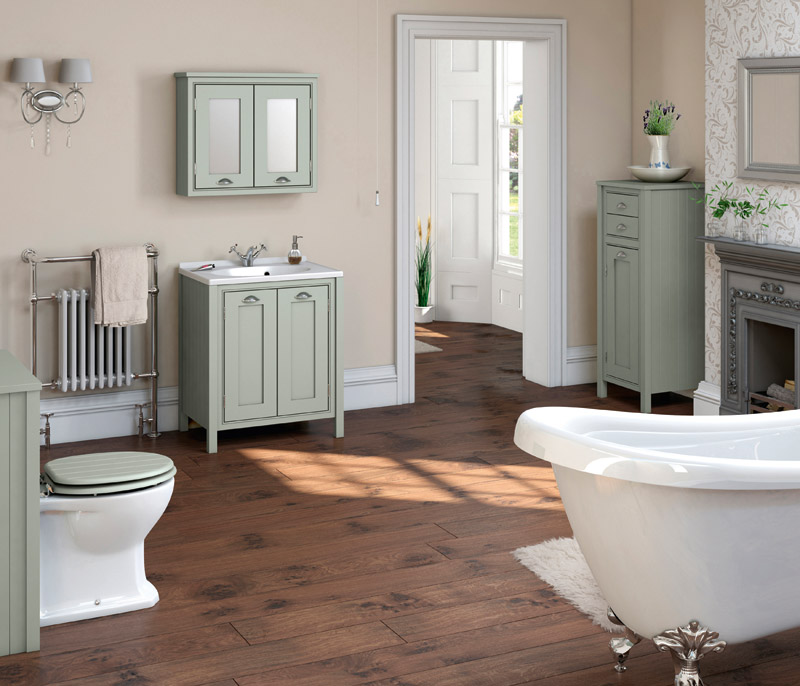 Bathroom suites tiles accessories in wrexham for Pictures of traditional bathrooms